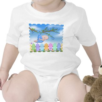 Baby Boy - Backyard Infant Creeper