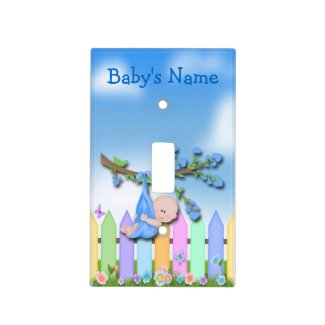 Baby Boy - Backyard Light Switch Covers