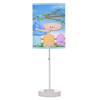 Baby Boy - Backyard Table Lamp