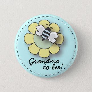 "Baby Boy Bee in Blue Grandma To ""Bee"" Pin"