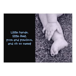 Baby Boy Birth Annoucement Card