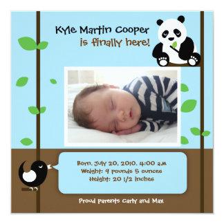 Baby Boy Birth Announcement