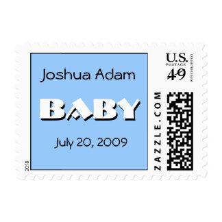 Baby Boy Birth Announcement Postage
