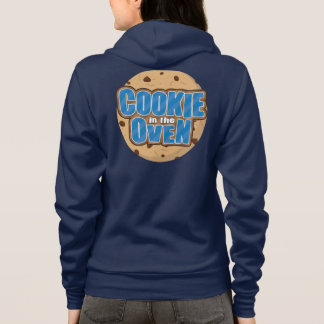 Baby Boy Blue Chocolate Chip Cookie in the Oven TM Hoodie