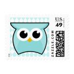 Baby Boy Blue Owl Postage