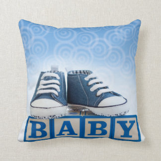 BABY BOY BLUE PILLOW
