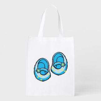 baby boy blue shoes market totes