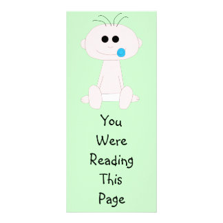 Baby Boy Bookmark Template Rack Card