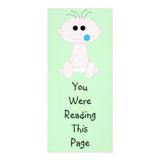 Baby Boy Bookmark Template Rack Card Design