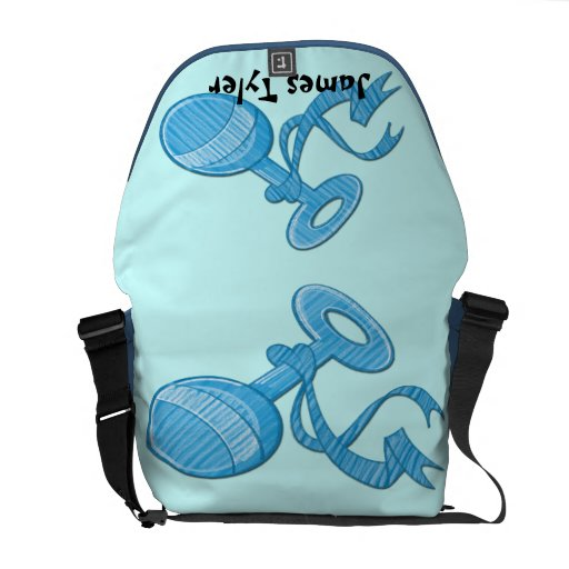 baby boy booties baby diaper bag messenger bags zazzle. Black Bedroom Furniture Sets. Home Design Ideas