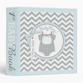 Baby Boy Bow Tie Memory Book Album Binder