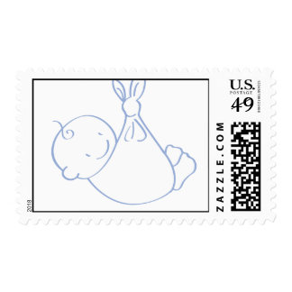 Baby Boy Bundle Postage Stamps
