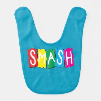 Baby Boy call smash Monogram Baby Bib