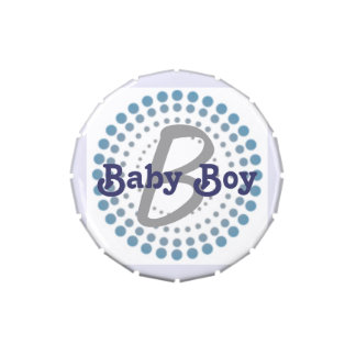 Baby Boy Candy Tin