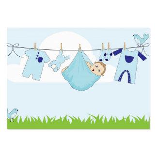 Baby boy cartoon business card