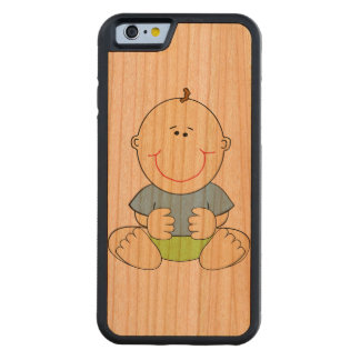 Baby Boy Carved Cherry iPhone 6 Bumper Case