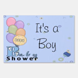 Baby Boy Celebration Baby Shower Sign