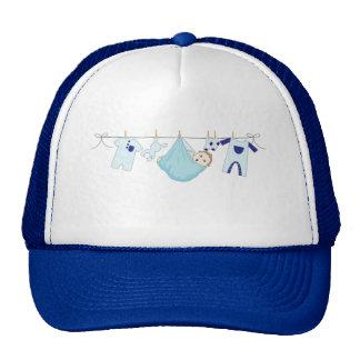 Baby Boy Clothes Line Trucker Hat