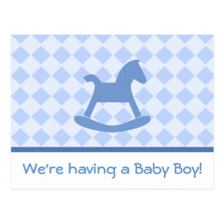 Baby Boy Collection Postcard