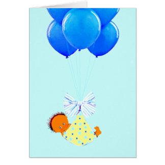 Baby Boy Congrats Card