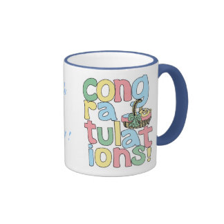 BABY (Boy) Congratulations Mugs