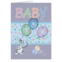 Baby Boy congratulations new baby Card