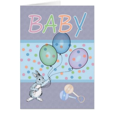 Toddler & Baby themed Baby Boy congratulations new baby Card