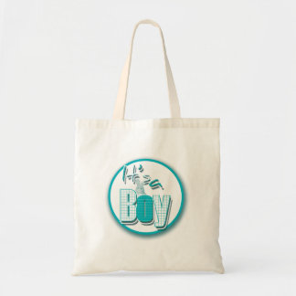 Baby boy cute bunny gifts for new moms tote bag