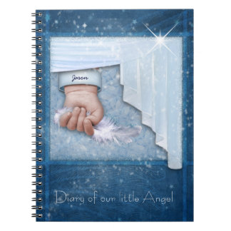 Baby Boy Diary Spiral Notebooks