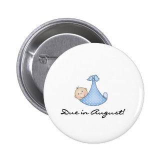 Baby Boy Due in August Pins