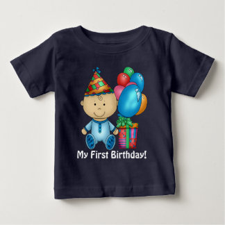 baby boy First Birthday t-shirt