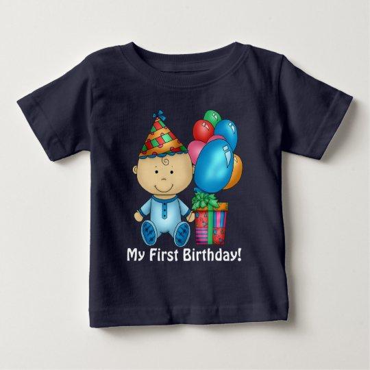 Baby Boy First Birthday T Shirt