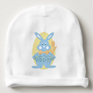 Baby Boy First Easter Bunny Baby Beanie