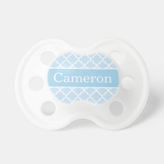 Baby Boy First Name | Custom Blue Baby Pacifier