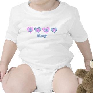Baby Boy Hearts Shirt