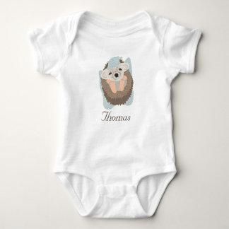 Baby Boy Hedgehog Baby Bodysuit