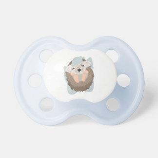 Baby Boy Hedgehog Pacifier