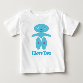 Baby Boy in Blue - I Love You Baby T-Shirt