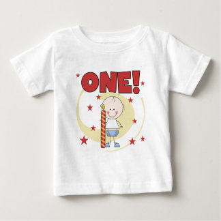 Baby Boy is One 1st Birthday Tshirts and Gifts