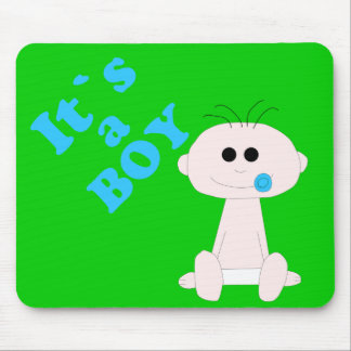 Baby Boy It's A Boy Mousepad