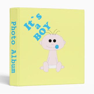 Baby Boy It's A Boy Photo Album Template Binder