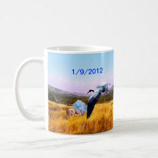 Baby boy keepsake coffee mug