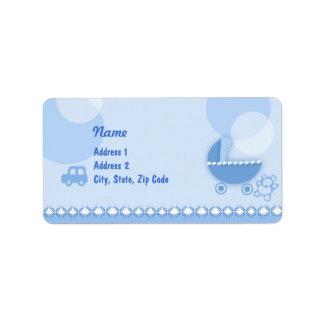 Baby Boy - Label Address Label