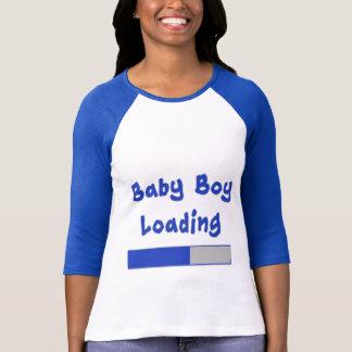 Baby Boy Loading Maternity Humor T-Shirt