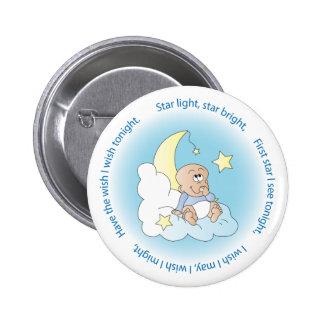 Baby Boy Make a Wish Pinback Button