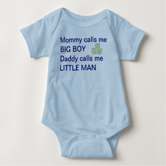 Baby Boy Man Shirt