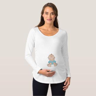 Baby Boy Maternity Long Sleeve Shirt