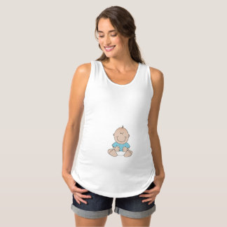 Baby Boy Maternity Tank Top