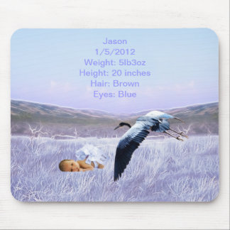 Baby boy mouse pad