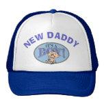 Baby Boy New Daddy Trucker Hats
